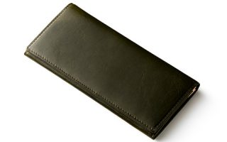 緑色の財布